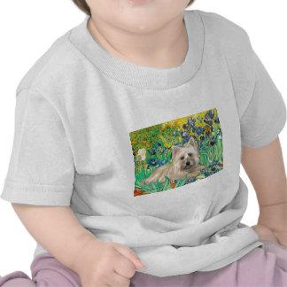 Cairn Terrier 4 - Irises Tee Shirt