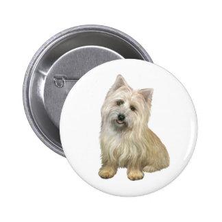 Cairn Terrier (4b) Pinback Button