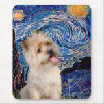 Cairn Terrier 9 - Starry Night Mouse Mats