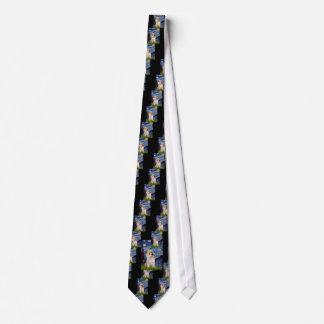 Cairn Terrier 9 - Starry Night Neck Tie