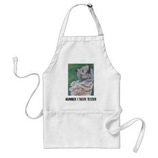 cairn terrier APRON NUMBER 1 TASTE TESTER