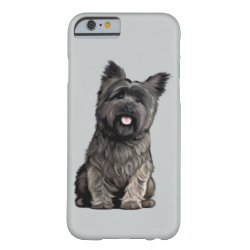 Case-Mate Barely There iPhone 6 Case with Cairn Terrier Phone Cases design