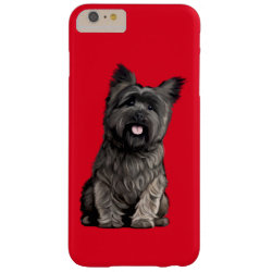 Case-Mate Barely There iPhone 6 Plus Case with Cairn Terrier Phone Cases design