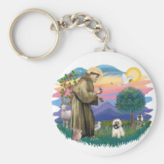 Cairn Terrier (black mask - #14) Keychain