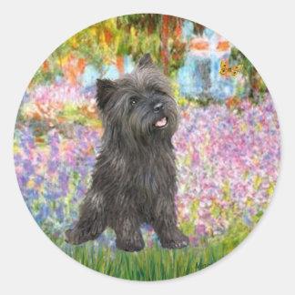 Cairn Terrier (Brindle 21) - Garden Sticker