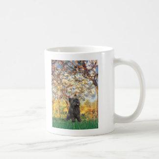 Cairn Terrier (Brindle 21) - Spring Coffee Mug