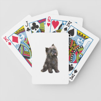 Cairn Terrier - brindle Bicycle Playing Cards