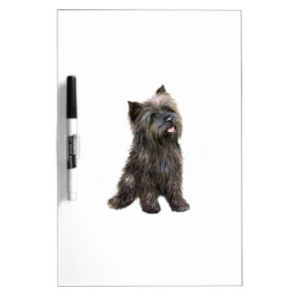 Cairn Terrier - brindle Dry-Erase Whiteboards