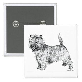 Cairn Terrier Pinback Buttons