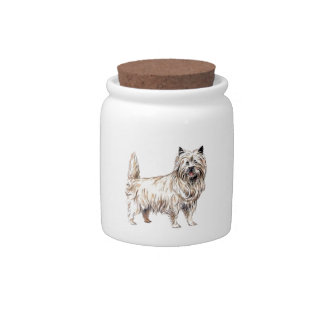 Cairn Terrier Candy Dish