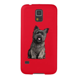 Case-Mate Barely There Samsung Galaxy S5 Case with Cairn Terrier Phone Cases design