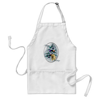 Cairn Terrier Christmas Gifts Aprons