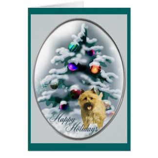 Cairn Terrier Christmas Gifts Card