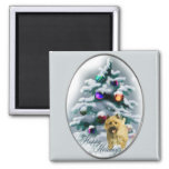 Cairn Terrier Christmas Gifts Magnet