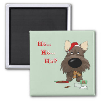 Cairn Terrier Christmas Magnets