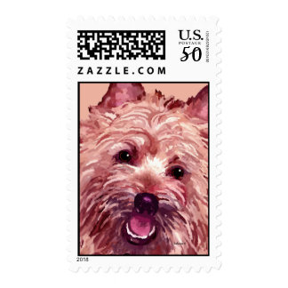 Cairn Terrier Chubba Postage