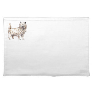 Cairn Terrier Cloth Placemat