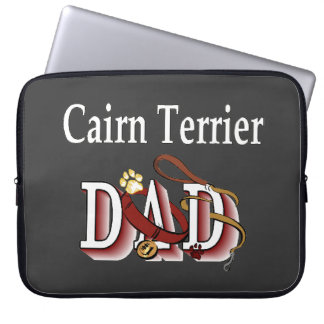 Cairn Terrier Dad Gifts Computer Sleeve