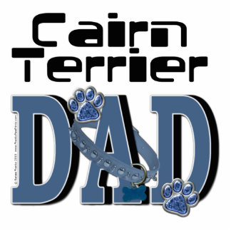 Cairn Terrier DAD Photo Cut Outs