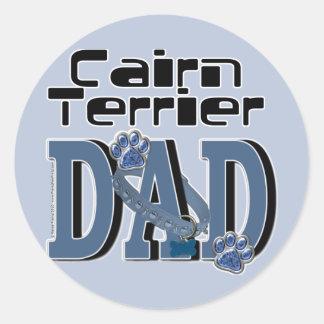 Cairn Terrier DAD Stickers