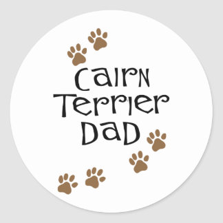 Cairn Terrier Dad t-shirts & gifts Stickers