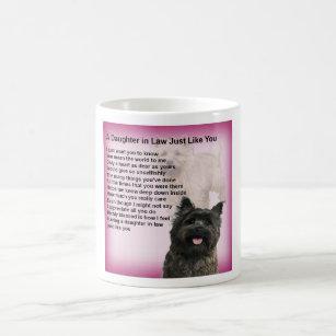 Cairn Terrier - Daughter in Law Poem Coffee Mug