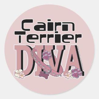 Cairn Terrier DIVA Sticker