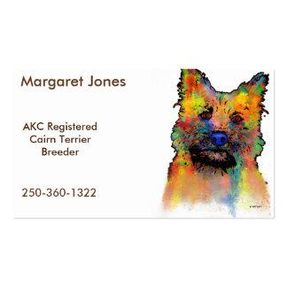 Cairn Terrier Dog Business Card
