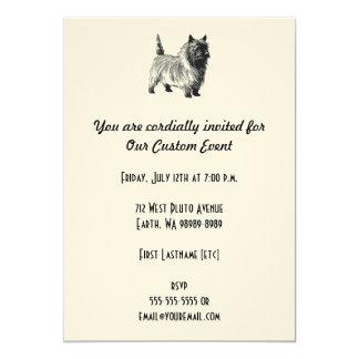Cairn Terrier Dog Card