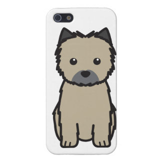 Cairn Terrier Dog Cartoon iPhone 5 Covers