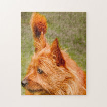 Cairn Terrier Dog. Jigsaw Puzzle