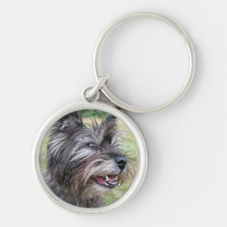 Cairn Terrier dog keychain, gift idea Keychain