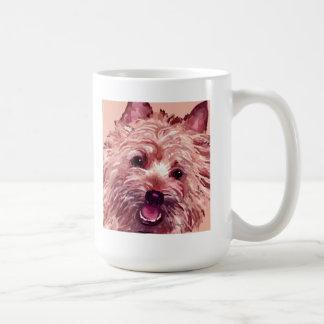 Cairn Terrier Face Art Mug