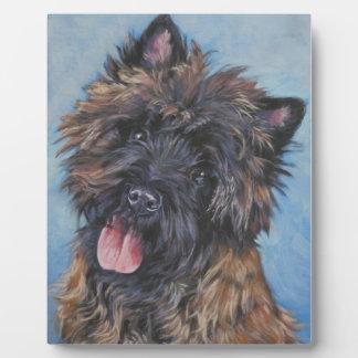 Cairn Terrier Fine Art Plaque
