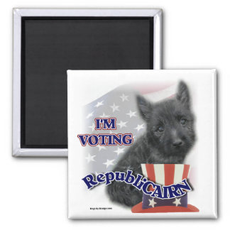 Cairn Terrier Gifts 2 Inch Square Magnet