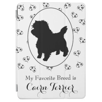 Cairn Terrier Hearts and Paw Prints iPad Air Cover