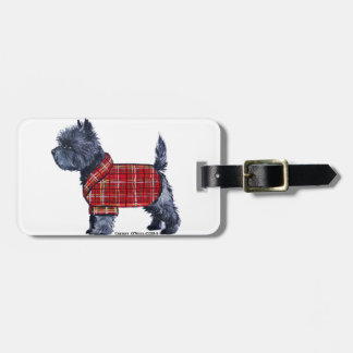 Cairn Terrier Holiday Tags For Luggage