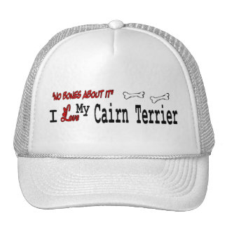 Cairn Terrier (I Love) Hat
