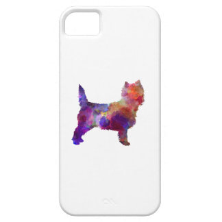 Cairn Terrier in watercolor iPhone SE/5/5s Case