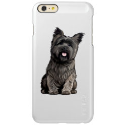 Incipio Feather® Shine iPhone 6 Plus Case with Cairn Terrier Phone Cases design