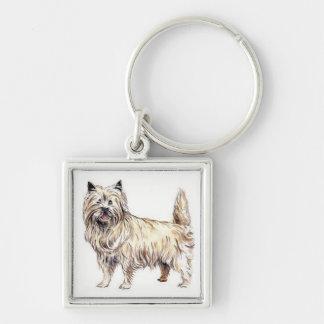 Cairn Terrier Keychain