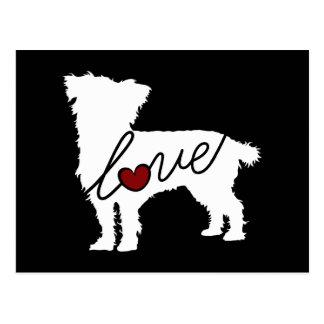 Cairn Terrier Love Postcard