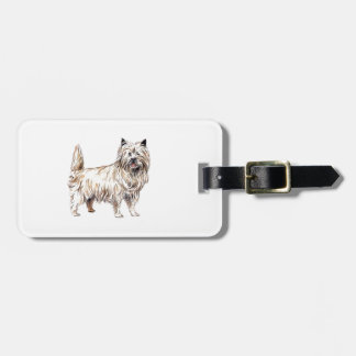 Cairn Terrier Tag For Luggage