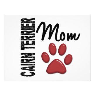 Cairn Terrier Mom 2 Custom Flyer