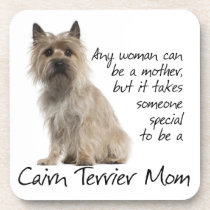 Cairn Terrier Mom Coaster