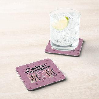 Cairn Terrier MOM Drink Coasters