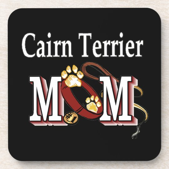 Cairn Terrier Mom Gifts Coaster