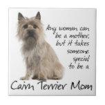 "Cairn Terrier Mom Tile<br><div class=""desc"">This tile is a great gift for any Cairn Terrier Mom.</div>"