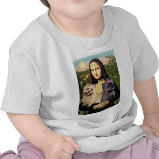 Cairn Terrier Pair - Mona Lisa T-shirt
