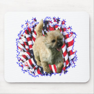 Cairn Terrier Patriot Mouse Pad